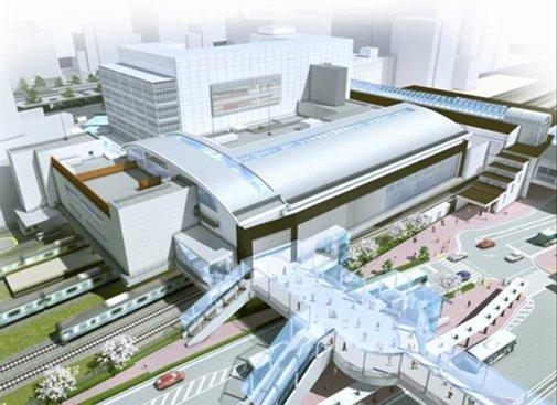 姿を変える川崎駅